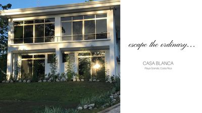 Photo for Elegant Casa Blanca in Playa Grande