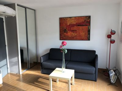 Photo for Apartment close to beaches 50 M with terrace and private parking