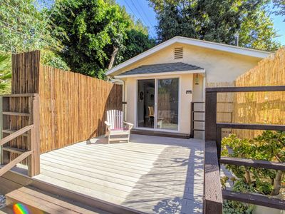 Photo for Hillside Bungalow House near UCLA edge of Bel Air + Parking