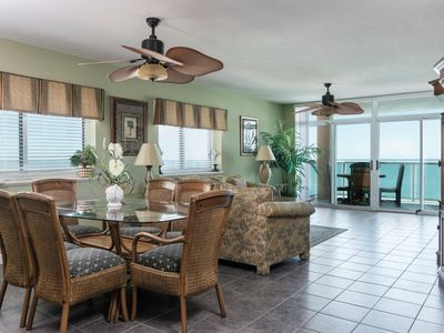 Photo for Spacious 4 bedroom condo with a fantastic ocean front view! | Blue Water Keyes -  602