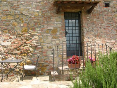 Photo for Il Coltro Farmhouse front on S.Gimignano - ETRUSCO