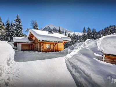 Photo for La Clusaz chalet for 8 - hot tub, sunny terrace, great views - OVO Network