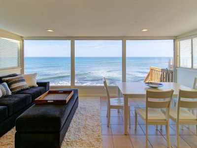 Photo for Oceanfront bungalow with a full kitchen, free WiFi, and spectacular views!