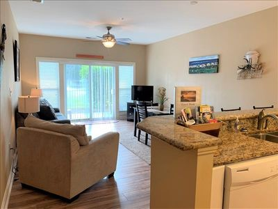 Full size fully equipped kitchen! Close to the Coastal Grand Mall.