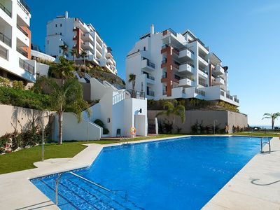 Photo for Magnificent Sea View Apartment With Parking, Torrox