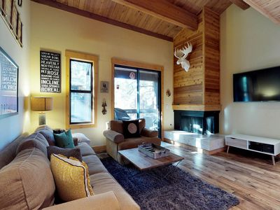 Photo for NEW LISTING! Sleek Northstar condo w/shared hot tub/pool/tennis, near ski runs