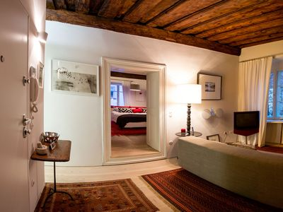 Photo for Modern Refurbished Apartment In A Historical, 200-Years Old Building