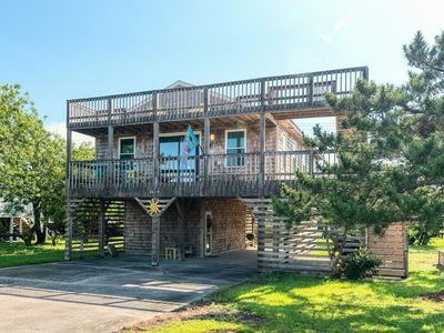 Photo for 335 - New Nags Head Rental Home with Long, Multi-Level Deck Space!