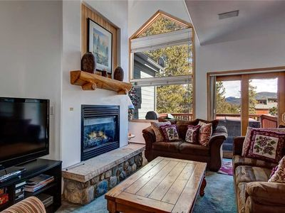 Photo for Ski-in town-home, Private hot tub, Fully stocked kitchen, Sleeps 13!