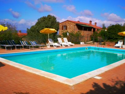 Photo for Apartment Hill's Paradise in Città della Pieve - 4 persons, 1 bedrooms