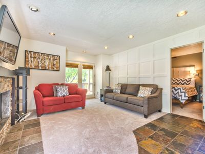Photo for One Bedroom Condo with a Private Hot Tub in the Canyons Village!