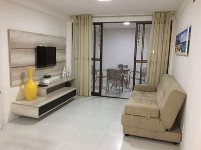 Photo for Resort Structure, apt. 2/4, Close to the beach opposite the lagoon