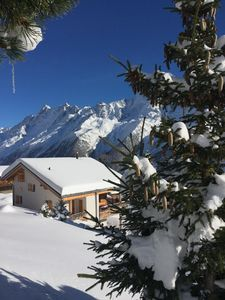 Photo for Ski in ski out! Fantastic chalet at 2000m in the UNESCO World Heritage.