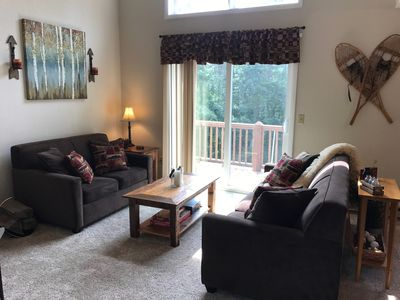 Photo for Black Bear Lodge - Cozy 3 BR  w/AC across from Holiday Valley, 1 mile to town