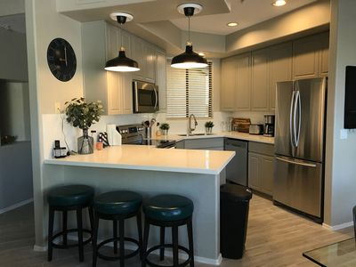 Photo for NEW LISTING! Fully Renovated, Luxury Condo in GATED COMMUNITY
