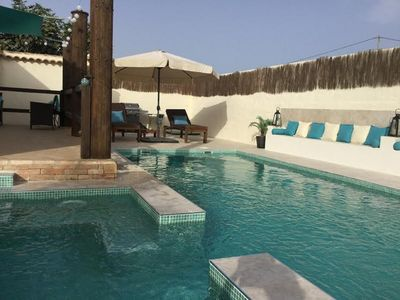 Photo for Beautiful private villa with pool and jacuzzi in an area of tranquility.