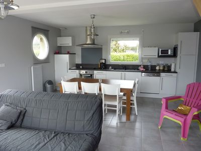 Photo for Seasonal rental on Plouguerneau - 200 meters from the sea (Finistère)