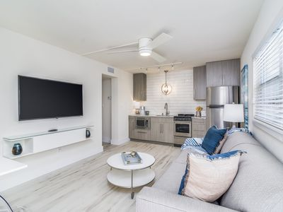 Photo for New Listing! Coastal, Modern, Boutique Apartment w/amazing beach access!