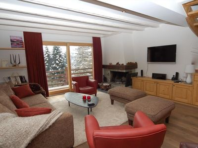 Photo for Wonderful 5 piece apartment, in the Pleyeuse area.   Composition :  • Living room with fireplace