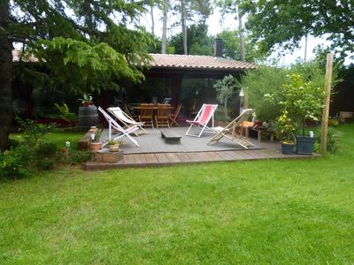 Photo for Family house for a successful holiday on the Bassin d'Arcachon