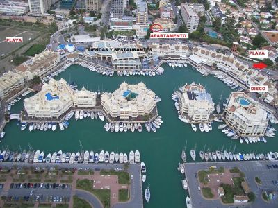 Photo for PORT MARINA, IDEAL FOR HOLIDAYS