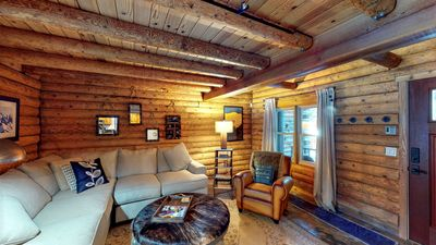 Photo for Tahoe Donner Charming Mountain Log Cabin