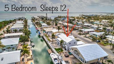 Large 5BR Sleeps 12 Waterfront Home Ocean Side Deep Canal 68ft Dock Baby Items
