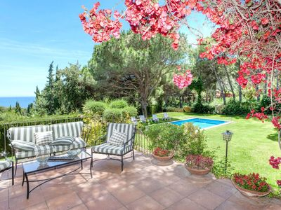 Photo for 5BR Villa Vacation Rental in Fornells, Catalonia