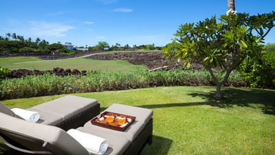 Photo for Mauna Lani Fairways Golf Course View~Beach Pass~3 Bedroom 2-1/2 EZ to Pool