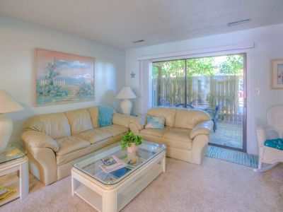 Photo for Enjoy this Town-home at the beach with your family!! Pool and the Beach!