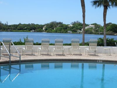 Photo for Views of the inter-coastal waterway and walking distance to Siesta Key