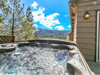 Photo for STARGAZER'S LOFTY FURNISHED CABIN~PRIVATE HOT TUB~
