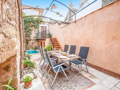 Photo for 3 bedroom Villa, sleeps 6 in Alcúdia with Pool, Air Con and WiFi