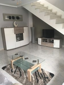 Photo for Lovely detached villa in a quiet residential area with chill out solarium