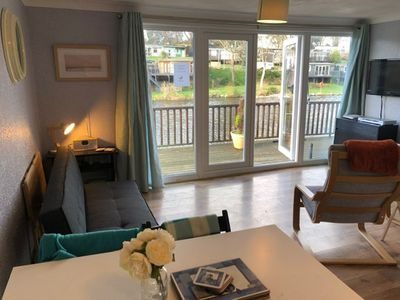 "Photo for Glan Gwna 84, Lakeside lodge. ""Dog Friendly"" Caeathro Nr.Caernarfon"