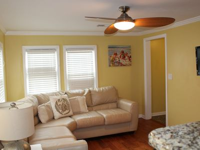 Photo for Steps From the Beach and Boardwalk - WiFi, Laundry and Linens Included!