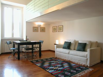 Photo for Eroi Bis apartment in Vaticano with WiFi & air conditioning.