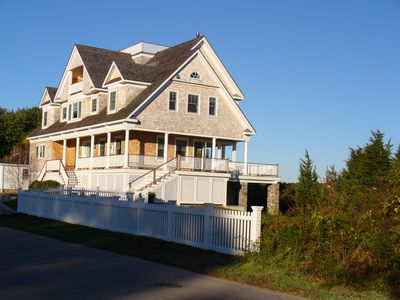 Photo for Stunning direct waterfront home in Watch Hill