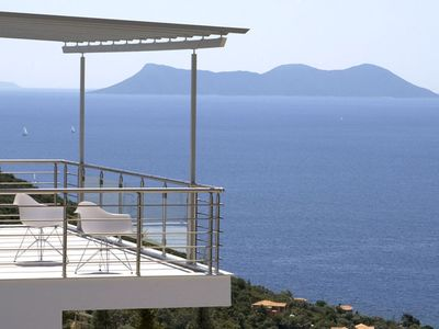 Photo for DREAMVIEWVILLAS LUXURY VILLAS IN LEFKAS