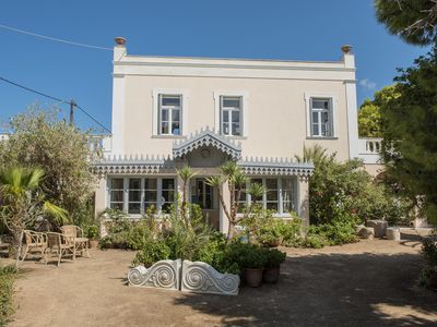 Photo for Superb 4 Bedroom 19th Century Villa Sleeps 9 with Private Pool and large gardens