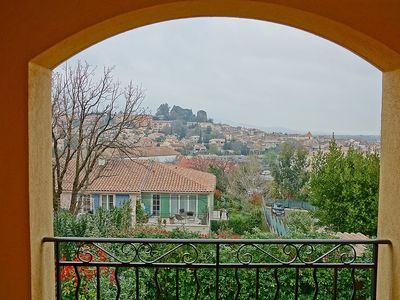 Photo for Apartment in the center of Cogolin with Parking, Internet, Washing machine, Balcony (107249)
