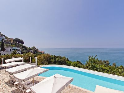 Photo for 8BR Villa Vacation Rental in Praiano, Campania