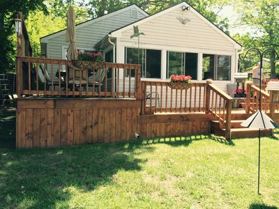 Photo for Waterfront cottage with private dock and boat launch!