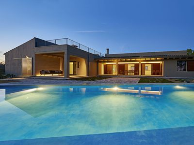 Photo for Dreamlike newly built villa with infinity pool