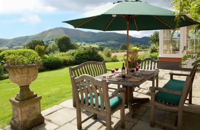 Photo for This substantial, detached house  is situated on the side of the Long Mynd, enjoying stunning views.