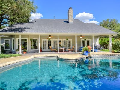 Photo for AUTHENTIC WESTLAKE ESTATE | Pool/Spa | Up to 14 Bds | Gameroom | 4m to ATX