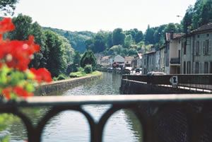 Photo for WATERFRONT PROPERTY IN MEDIEVAL VILLAGE
