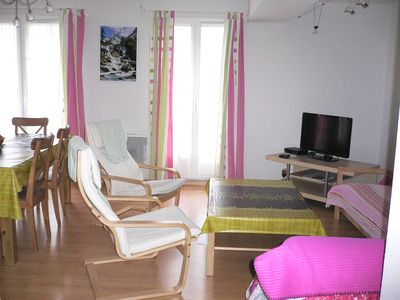 Photo for 2 bedrooms 70m2 apartment 4/6 people downtown