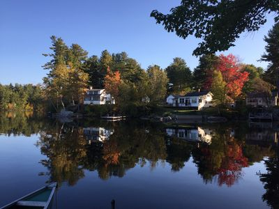 Photo for Classic Maine Cabin On Quiet Panther Pond In Raymond, ME