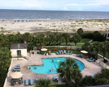 Photo for Now Renting Summer 2019: Top-floor 4BR Oceanfront Condo w/ Pool (Wild Dunes/IOP)